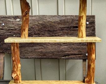 Rustic Three Tier Shelf