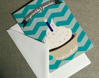Happy Birthday Card, Cupcakes Cease to Exist!