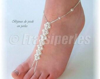 Bijoux de pieds Perles