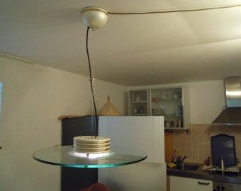Fratelli Martini designer glass chandelier