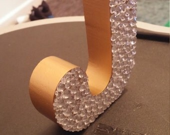 Blinged Out Monogram Gold/Silver Letters!! Any Letter!!!