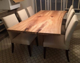 Custom made furniture, inside or outside, natural live edge, dining tables, coffee tables, benches, consoles