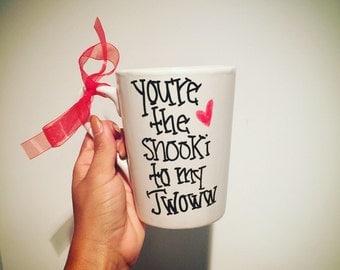 My Original Design- You're the Snooki to my JWOWW Mug best friends mug bff gift
