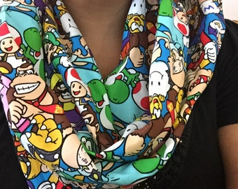 SALE Super Mario Brothers Infinity Scarf