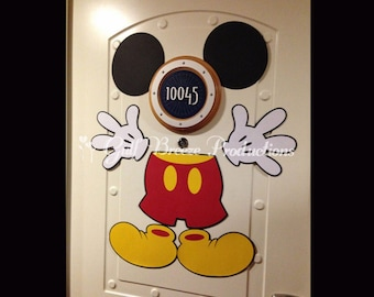 Mickey Mouse Magnet for Disney Cruise Door