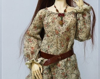 1/3 BJD Romantic/Boho Outfit, fits Soom, Iplehouse, Feeple, etc.