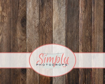 Vinyl Backdrop, RUSTIC WOOD floor Photography Backdrop // Simplyphotodrops Premium Vinyl Backdrops