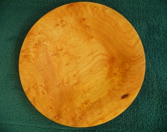 Small Birdseye Maple Dish # 291