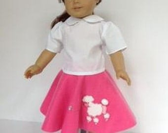 Doll Clothes - Poodle Costume