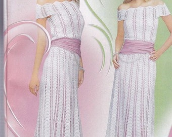 MADE TO ORDER, famous wedding crochet dress, custom made