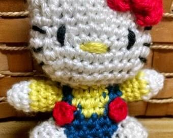 Hello Kitty Doll/Hello Kitty Crocheted
