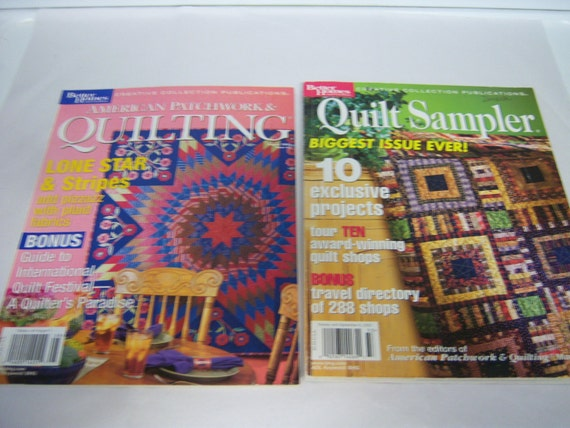 American Patchwork And Quilting Magazine Quilt Sampler 2003