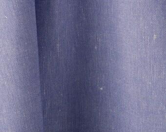 Purple Linen fabric by the half yard - Purple Flax European linen fabric - Purple