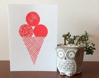 Ice Cream 3 Card