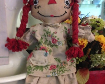 Primitive Girl Rag doll