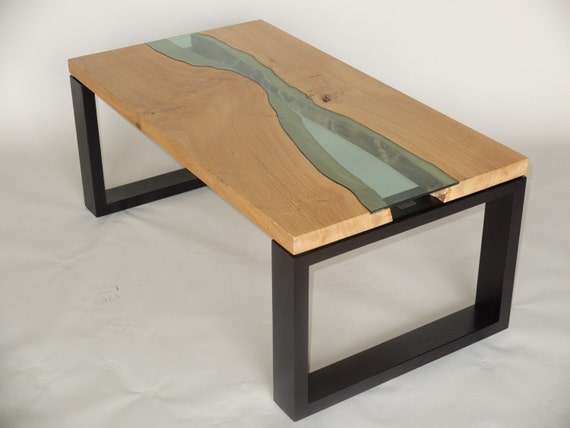 Handmade 39 Wood And Water 39 Coffee Table Solid