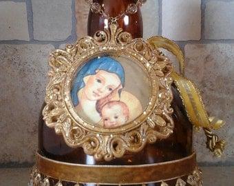 Italian Renaissance Altered Bottle