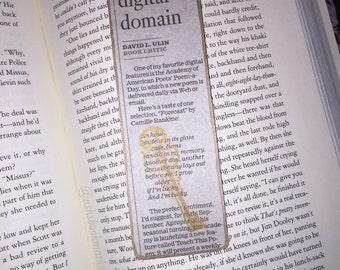 "Newspaper ""Key Notes"" Bookmark"