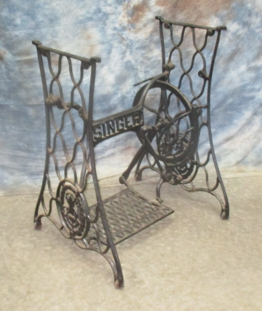 iron sewing machine base