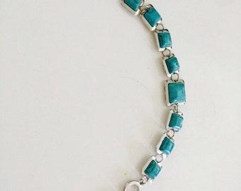 Turquouise stone bracelet