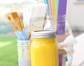 """Chalk Finish Paint in color """"Sunny Side Up"""" 32oz or 16oz"""