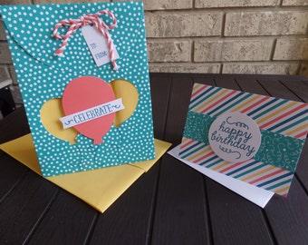 Birthday Bundle Bag and Card set