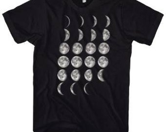 Geek Moon Phases T-Shirt