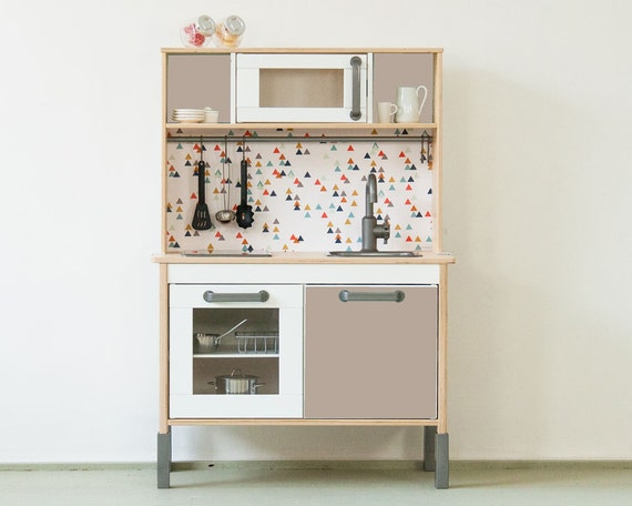 Toy kitchen pimp your ikea duktig kitchen with the by - Stickers cuisine enfant ...