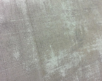Moda 30150 156 Grunge, Med gray with scratches of gray with light teal