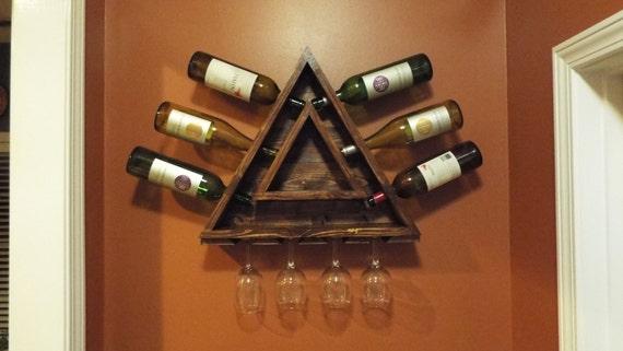 Triangle Wine Rack
