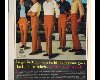 "Vintage Print Ad April 1969 : Jaymar  ""To go further..."" Advertisement Color Wall Art Decor 8.5"" x 11"""