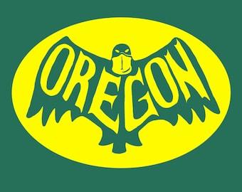 Oregon Ducks Batman T-Shirt