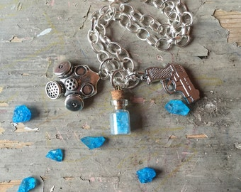 Breaking Bad Inspired Charm Necklace
