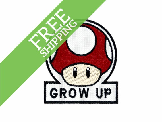 The gallery for --> Grow Up And Get A Life Mario