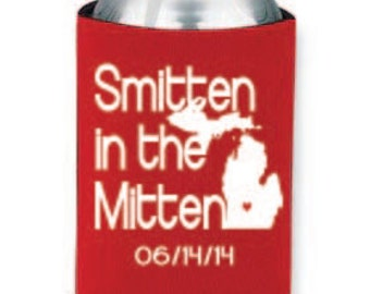Smitten In the Mitten Koozies