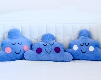 Happy Blue CLOUD CUSHION small