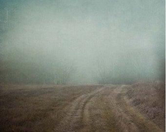 Foggy Path, Fine Art Print
