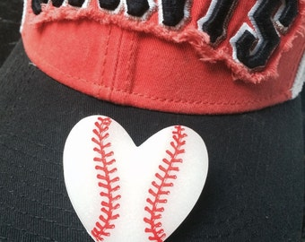 Baseball Love Brooch