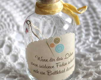 Spruchflasche, Zitatflasche.....Geschenkidee