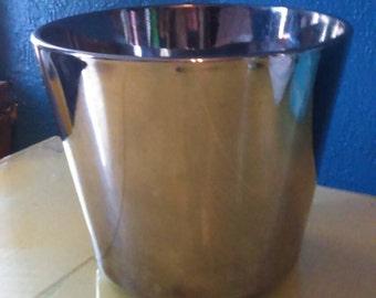 Queens Lusterware silver mercury ice bucket-MCM
