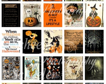 Halloween Printable planner stickers