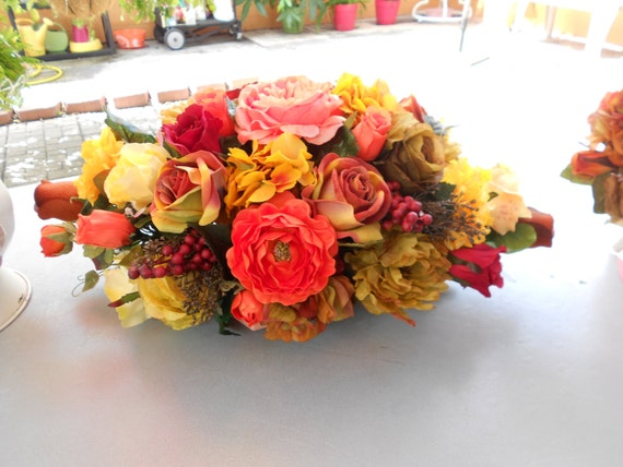 Fall Table centerpieces  for wedding and home decorations