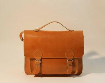 New Leather Messenger Bag Real Leather Bag! Handmade Bag! Laptop Bag, Briefcase Bag