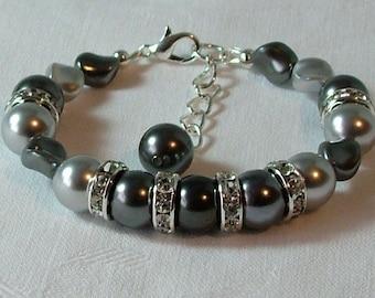 Swarovski Pearl beaded bracelet