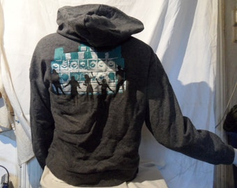 Hooded jacket with sound system