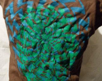 Shirt with Maori facial