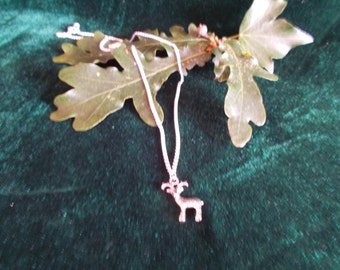 Elen of The Ways Necklace, Cernunnos Necklace, Deer Necklace