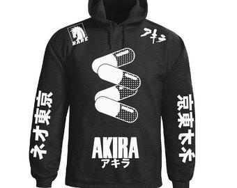Akira anime inspired hoodie