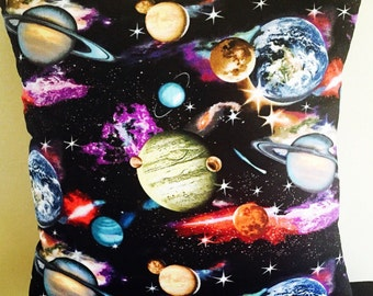 Galaxy Cushion - 45cm x 45cm (Cover Only) - Handmade