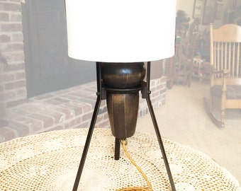 Antique Bunsen Burner Stand Table Lamp